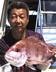 海釣りのことなら遊漁船・第三 勝仁丸の船長、三浦 仁におまかせください